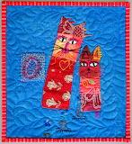 ^ Cat quilt