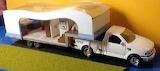 Fifth Wheel Trailer on Truck by Paula Holm