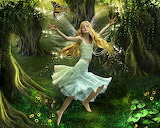 Forest Fairy Girl