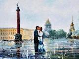 Afremov- Kiss in St.Petersburg