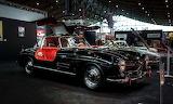 Black Mercedes-Benz SL Gullwing