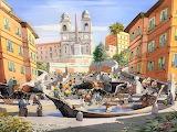 Ernesto Rispoli - Piazza Spagna- Roma