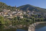 Roquebrun Village Languedoc France