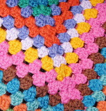 Granny Square Close-up