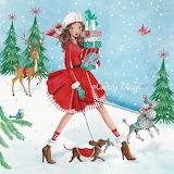 Christmas Doggy Stroll