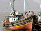 Fishing boat India