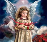 Christmas Angel by Sandra Kuck...