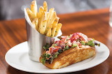 ^ Lobster Roll with Fries