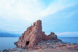 Cliffs of Rocce Rosse coast of Sardinia