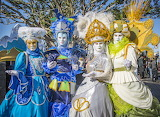Venice, carnival costumes, masks
