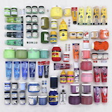 Things Organized Neatly - Paint