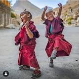 Carefree Buddhist Children - Tibet