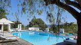 Mountain and sea view pool in Ibiza