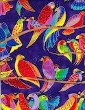 Laurel Burch Birds Birds Birds
