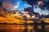 Boat Sunset Da Nang Bay