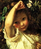 Peek-a-boo ~ Sophie G. Anderson