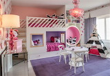 Cool pink girl's room
