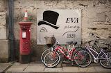Cartel Eva Pímez en Oxford Street