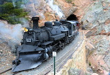 Cumbres & Toltec- 487 out of tunnel