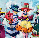 girls in hats