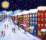 ^ Christmas Whimsical Scene