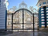 The palace ensemble, Tsarskoe selo - gate