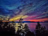 Tahoe Sunset, Nevada side