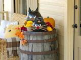 ^ Halloween pumpkin cats