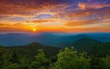 sunset inTennessee