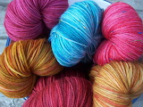 ☺ Coloured wool...