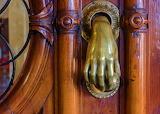☺♥ Ancient bronze door knocker...