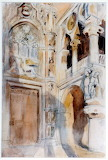 Doge's Palace, Venice by Henry Tonks