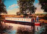 #Canal Boat by Steve Crisp