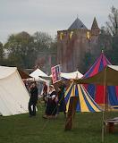Market at castle Brederode