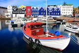 Torshavn. The Faroe Islands
