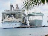 Ships at Cozumel