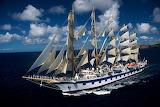 Royal Clipper Full Sail
