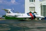 EJA Learjet at Port Columbus Ohio