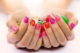 Beautiful colored nails