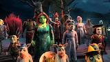 Fiona in Shrek's halloween