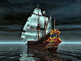 Night Sailing Ship