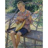 Nikolai Bogdanov-Belsky, artist's son, 1931