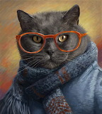 Cool cat by Lucie Bilodeau