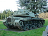 M103 Heavy tank at Ft Lewis Military Museum