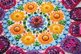 Beautiful quilling mandala