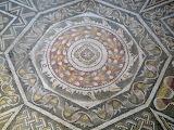 Mosaico octógono Villa Romana La Olmeda