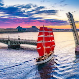 ❤️Scarlet Sails, St. Petersburg, Russia...