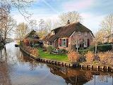 Giethoorn villaggio olandese