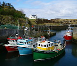 Harbour Outer Hebrides Scotland