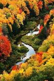 #Lazy Autumn River Scene- Pinterest